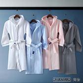 嬰兒浴袍純棉帶帽兒童男孩女孩睡衣