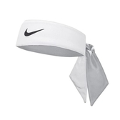 Nike 頭帶 Tennis Headband 白 黑 勾勾 快乾 吸汗 髮帶 頭巾【PUMP306】 NTN0010-1OS