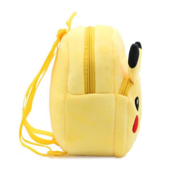 【發現。好貨】日本神奇寶貝Pokemon go口袋妖怪皮卡丘書包 寵物小精靈皮卡丘兒童書包毛絨背包