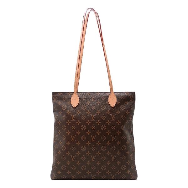 【台中米蘭站】全新展示品 Louis Vuitton 展示品 CARRY IT 系列Monogram帆布手提/肩背包(M45199-咖)