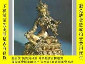 二手書博民逛書店蒙古的青銅佛造像藝術罕見66件 精美佛像 黑白圖 Collect