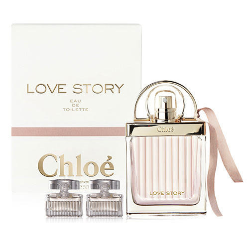 Chloe Love Story 愛情故事晨曦女性淡香水 75ml+ 同名淡香精 5ml x2【特價】★beauty pie★
