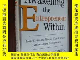 二手書博民逛書店Awakening罕見the Entrepreneur With