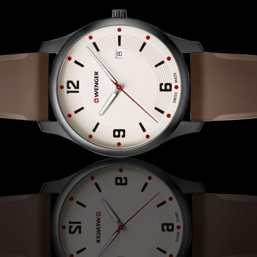 瑞士WENGER City Active城市獵人休閒腕錶 01.1441.124
