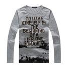 【99現貨限量】 質感設計款潮流長袖T恤...