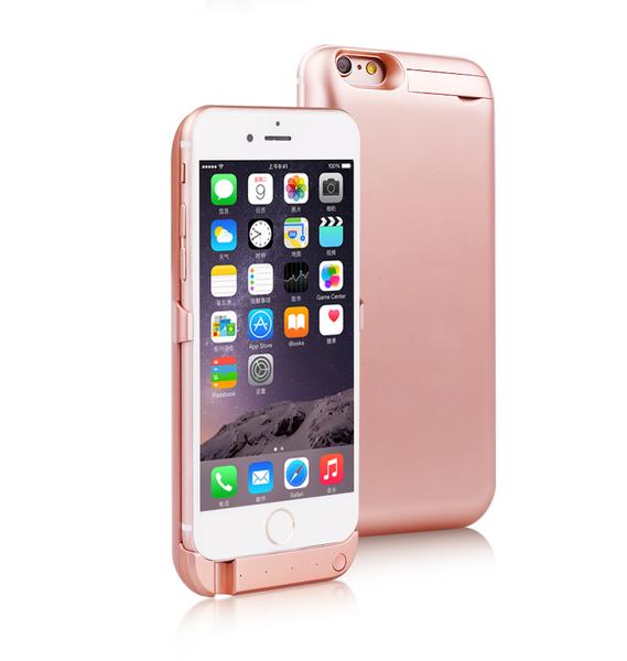 【世明國際】iPhone6/6s 4.7吋 一次充兩隻 背蓋充 行動電源 電池背蓋 充電手機殼 5800mah