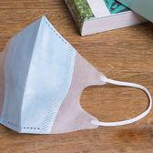 台灣製造-兒童耳繩立體口罩  藍色 50片 / 袋裝
