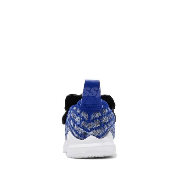 Nike 籃球鞋 LeBron XVII MTAA TDV 藍 白 童鞋 小童鞋 運動鞋 【ACS】 CT4139-400