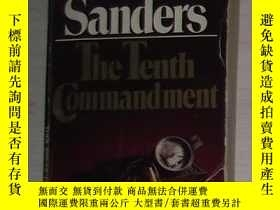 二手書博民逛書店英文原版罕見The Tenth Commandment by L
