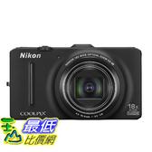[105美國直購] Nikon Coolpix S9300 16.0 MP Digital Camera - Black (Discontinued by Manufacturer)