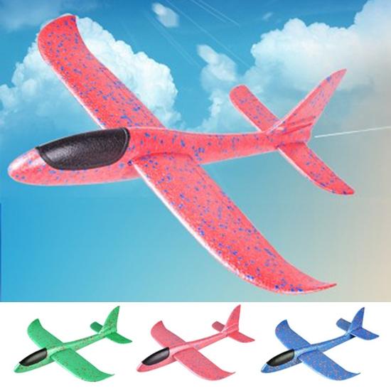 手拋飛機 保麗龍飛機 玩具 兒童 模型 航模 禮物 手拋特技滑翔飛機(大) 生活家精品 【P484】