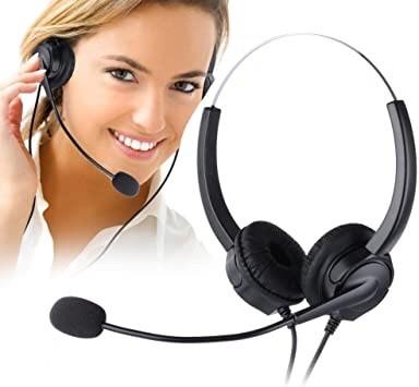 TONNET通航雙耳電話耳機含靜音調音鍵 另有 Yealink 國際牌 通航 YEALINK 國洋 思科 安立達電話機使用