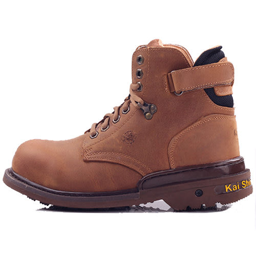 男款 凱欣 KS MIB MGA532 真皮鋼頭固特異高筒 安全鞋 工作鞋 戰鬥靴 59鞋廊