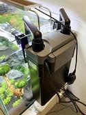 過濾器 森森外掛過濾桶生態魚缸過濾器小型循環泵草缸外置過濾瀑布式過濾 宜品居家