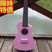 烏克麗麗ukulele-缺角21吋椴木合板四弦琴樂器4色69x29【時尚巴黎】