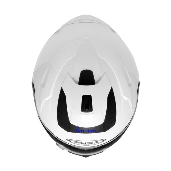 林森~ZEUS安全帽,ZS-806F,素/白