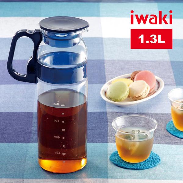 【iwaki】日本品牌耐熱玻璃冷水壺-1300ml