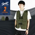 工裝背心-多口袋工裝背心-潮流穿搭款 《00199166》共2色『RFD』