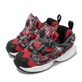 Reebok 慢跑鞋 Fury INF 紅 黑 童鞋 小童鞋 襪套式 運動鞋【ACS】 EG2440
