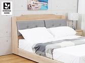 【多瓦娜】MIT利拉工業日式5尺貓抓皮床頭箱(矮皮面)-二色-036
