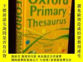 二手書博民逛書店oxford罕見primary thesaurusY15282