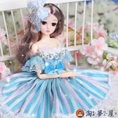 芭比洋娃娃50厘米套裝仿真公主禮盒超大女孩玩具【淘夢屋】