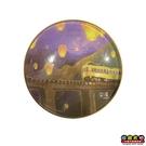 【收藏天地】台灣紀念品*水晶玻璃球冰箱貼-平溪鐵路