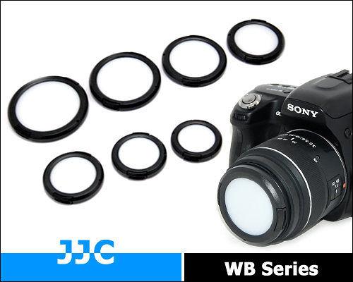 又敗家@ JJC白平衡鏡頭蓋49mm 52mm白平衡鏡頭蓋 白平衡片白平衡板WB蓋白平衡蓋White Balance Lens