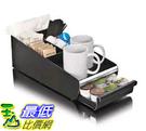 [美國直購] Mind Reader ORG01-BLK 茶 咖啡 收納盒  for K-Cup Vesta Coffee Pod and Condiment Accessories Holder, Black