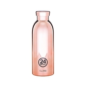 義大利 24Bottles 不鏽鋼雙層保溫瓶 500ml/玫瑰金