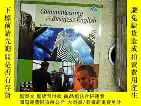 二手書博民逛書店Communicating罕見in business english bob dignen 商務英語交流Y20