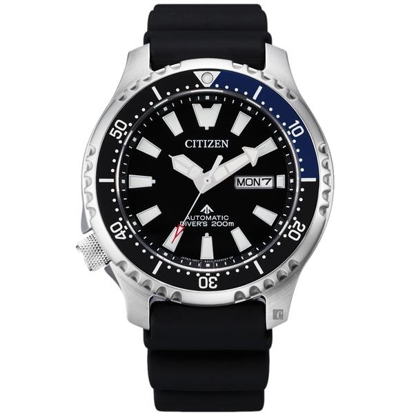 亞洲限定款 CITIZEN 星辰 PROMASTER 鋼鐵河豚EX潛水機械錶-44mm(NY0111-11E)