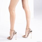 大碼女鞋偽娘變裝反串cd金屬跟鞋細跟超細性感13cm大碼高跟鞋T台走秀35 多色小屋
