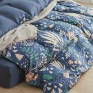 天絲 床包被套組(舖棉兩用被套) 加大【夏夜】 涼感 親膚 100%tencel 萊賽爾纖維 翔仔居家