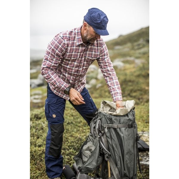 ╭OUTDOOR NICE╮瑞典FJALLRAVEN Barents Pro Trousers 男款 G-1000 雙色褲 81761 深灰色 登山褲 休閒褲