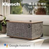 【結帳再折+24期0利率】Klipsch 古力奇 藍芽無線喇叭 內建Google助理 THE THREE GVA
