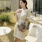 洋裝OL連身裙S-XL0123#夏裝韓版...