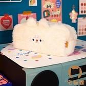 毛絨筆袋大容量超萌可愛小熊毛絨絨筆盒【宅貓醬】