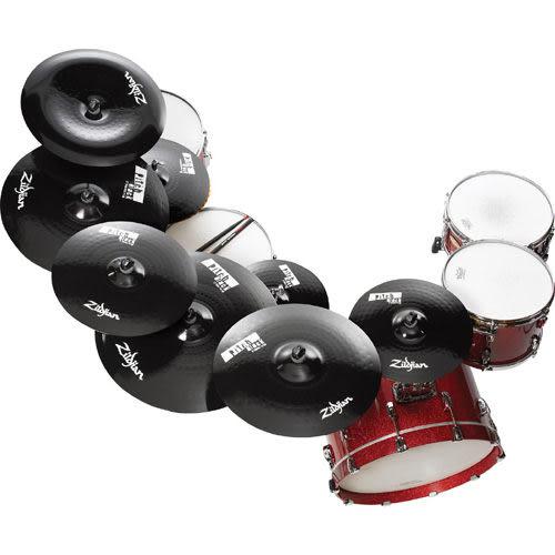 【敦煌樂器】Zildjian PitchBlack 16 吋銅鈸/黑色酷炫銅鈸 適合搖滾樂風