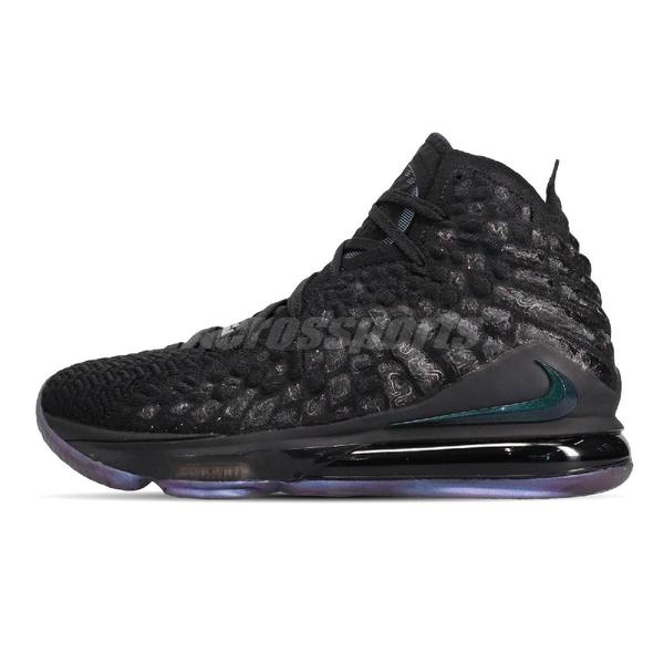 【六折特賣】Nike 籃球鞋 LeBron XVII EP 黑 男鞋 運動鞋 LBJ 17代 大氣墊 【ACS】 BQ3178-001