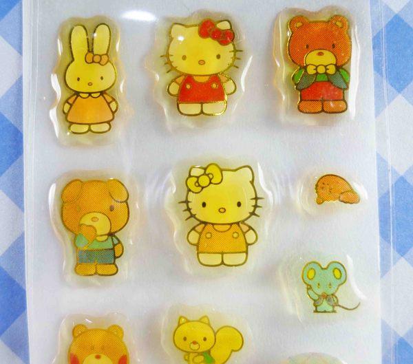 【震撼精品百貨】Hello Kitty 凱蒂貓~KITTY貼紙-小熊