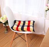 椅墊   異國風情格子椅墊  【ZMW013】-收納女王
