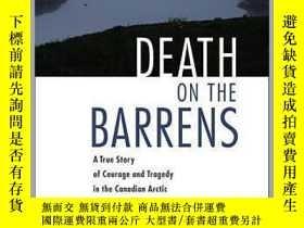 二手書博民逛書店Death罕見on the Barrens: A True Story of Courage and Traged