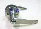 廣安牌 LH601 水平鎖 85 mm (無鑰匙) 管型 扳手鎖 水平把手 浴廁鎖 浴室鎖 廁所鎖門用 銀色