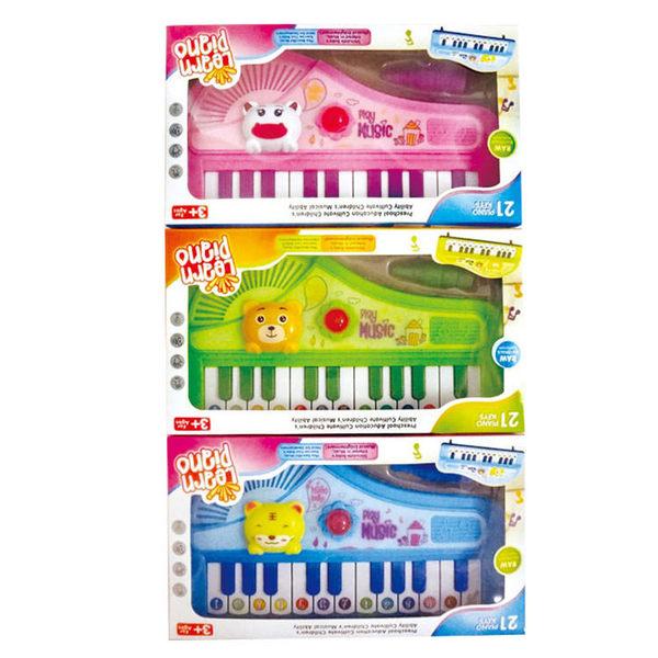 動物電子琴(單入不挑色) 益智兒童玩具(購潮8)
