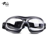 羅卡護目鏡防塵防風沙防沖擊化學飛濺噴漆用眼罩防霧騎行防護眼鏡
