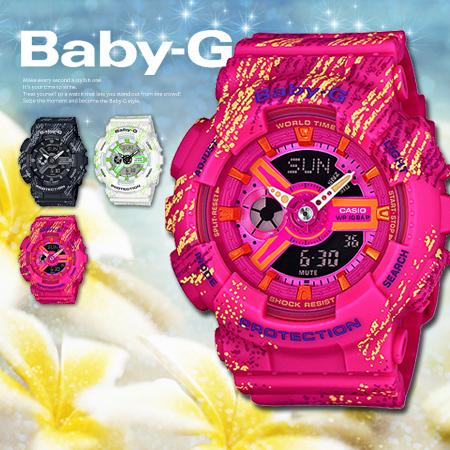 Baby G Ba 110tx 4a 4adr Casio 112 Pink Yahoo