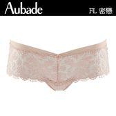 Aubade-密戀S-L彈性無痕平口褲(粉肤)FL