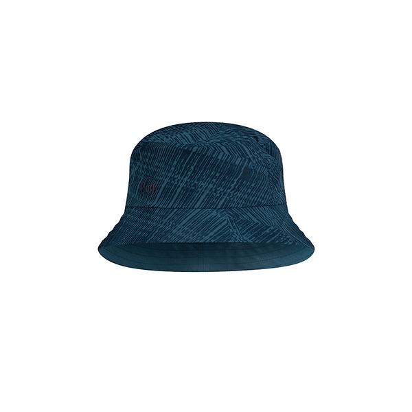 Buff 西班牙魔術頭巾 Trek Bucket 可收納漁夫帽 暗藍刷紋