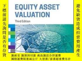 二手書博民逛書店Equity罕見Asset Valuation (cfa Institute Investment Series)